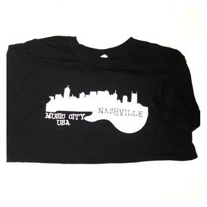Nashville Music City souvenir t-shirt